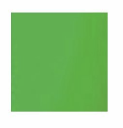 Rag Place  12x12 chroma green