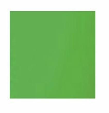 Rag Place  12x12 chroma green