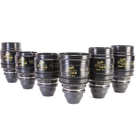 Cooke Mini S4/i Prime Lens Set (18,25,32,50,75,100)