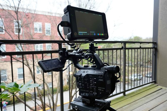 Sony FS5 II Camera W/ Atomos Shogun Inferno RAW recorder