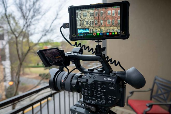 Sony FS5 II package with 24-70 2.8 GM Lens & Atomos Recorder
