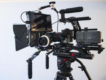 Rent: Indie Camera Package - GH5S, Cine Lenses, Full Rig