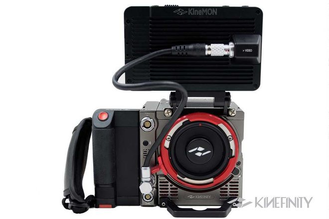 Kinefinity  Mavo LF w/ Cards and batteries +  KineBACK-W