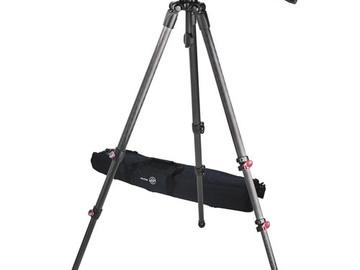 Rent: Sachtler Telescopic Tripod TT 75/2 CF with FSB 8 Fluid Head