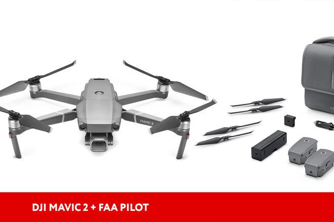 DJI Mavic 2 Pro Drone + FAA pilot
