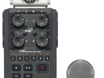 Rent: Zoom H6N Audio Recorder