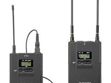 Rent: 2 Wireless Lav sets (Sony + Rode)