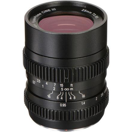 SLR Magic 25mm T0.95 HyperPrime Cine III Lens (Micro 4/3)