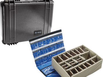 Rent: Pelican Case 1550 w/ padded dividers & lid organizer