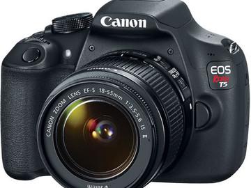 Rent: Canon EOS Rebel T5 Digital SLR Camera Body 1200D