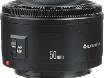 Rent: Canon 50mm F1.8 EF