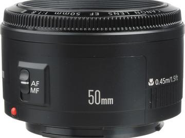 Canon 50mm F1.8 EF