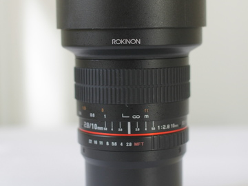 Rent: Lens Package 10mm, 20mm, 35mm, 50mm