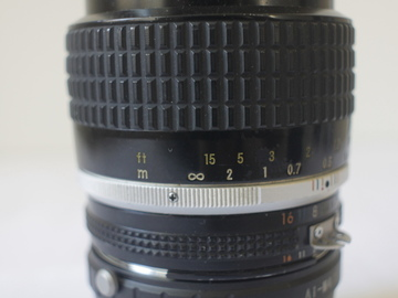 "Rent: Nikkor 35 mm 1,4 AIS (with smoth aperture ring without ""clic"