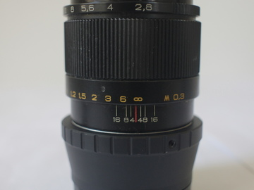 Rent: INDUSTAR-61L/Z -  50mm f/2.8(with smoth aperture ring withou