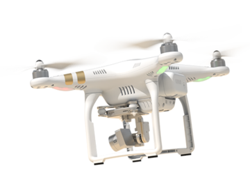 Rent: DJI Phantom 3 Professional with Pilot