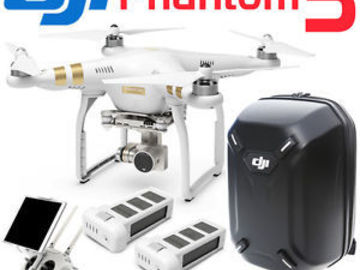 Rent: DJI 4K Phantom 3 Professional Drone with operator