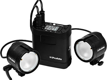 Rent: Profoto B2 Off Camera TTL Flash Kit (2 Lights + 3 Batteries)