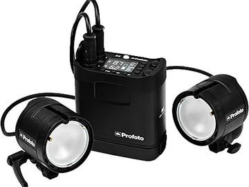 Rent: Profoto B2 Off Camera TTL Flash Kit (2 Lights + 3 Batteries)