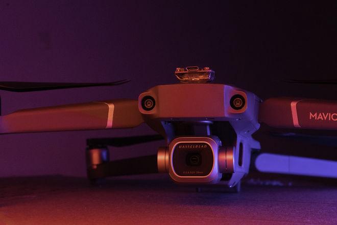 DJI Mavic 2 Pro + Anti Collision Lights + 16GB Micro SD