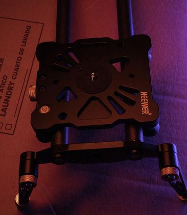 "Neewer 31.5""/80cm Carbon Fiber Camera Track Dolly Slider Rai"