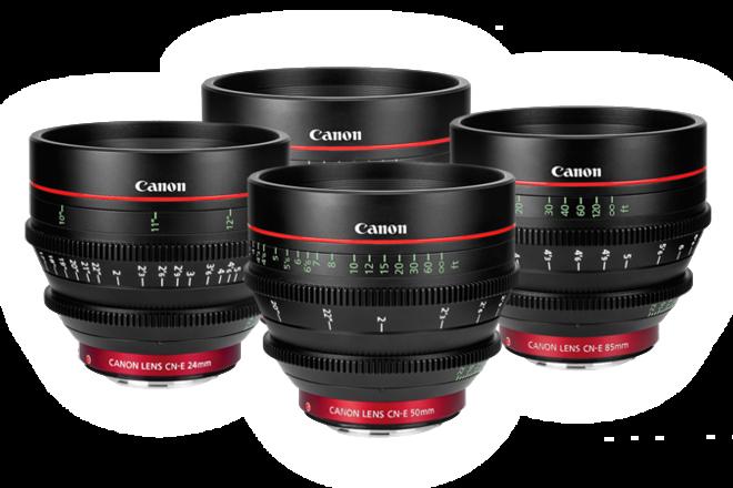 Canon CN-E Set (24-35-50-85)