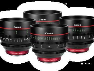 Rent: Canon CN-E Set (24-35-50-85)