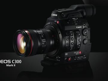 Rent: Canon C300 Mark II EF Mount Kit