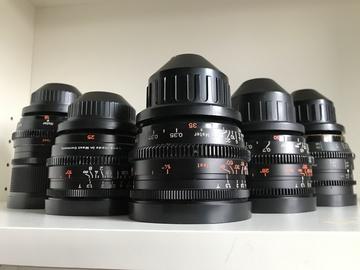 Zeiss Super Speeds MKII 18/25/35/50/85 + 300mm Telephoto