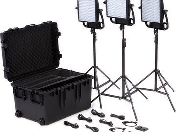 Rent: LitePanels Astra BiColor Kit (3 Panels)