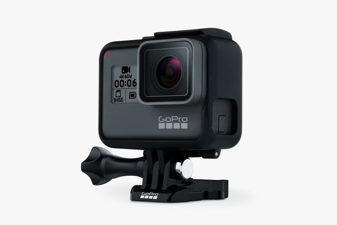 GoPro HERO6 Black w/ 3 batts and charger