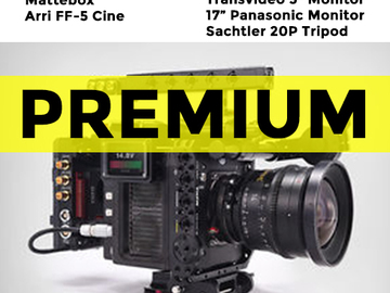 "Rent: Arri Alexa Mini - 4:3 License - Premium Pkg w/ 17"" Monitor"