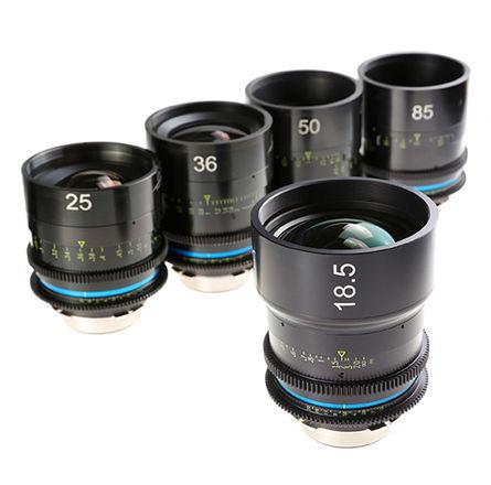 Celere T1.5 PL Full Frame Lens Set (w/ extra PL-E adapter)