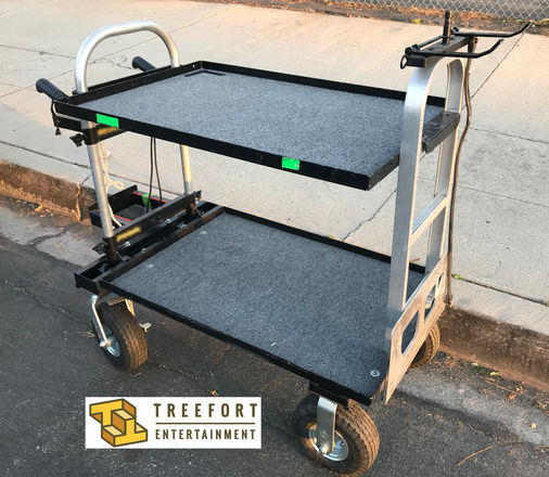 Magliner Jr. Camera Cart w/ Shelf, C-Stand & Tripod Holder