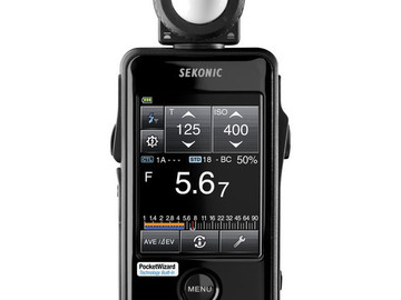 Rent: Sekonic Litemaster Pro L-478DR and Spot meter