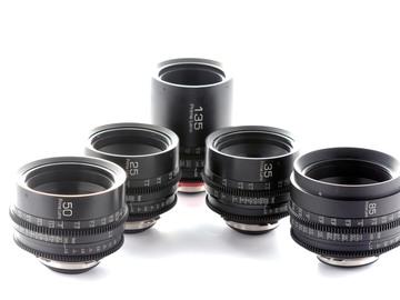 Rent: ZEISS CONTAX (5) lens set - PL MOUNT