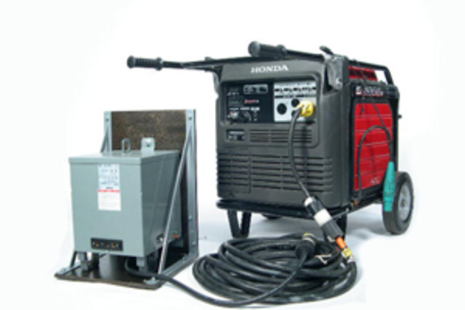 240-120v Transformer with Cable Package