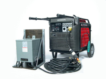 Rent: 240-120v Transformer with Cable Package