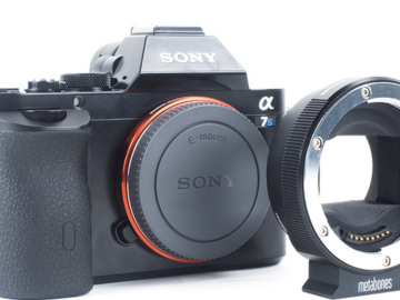 Rent: Sony A7s with Metabones 4 Adapter Ring