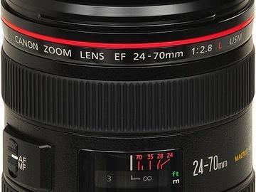 Canon 24-70mm f2.8 L Series