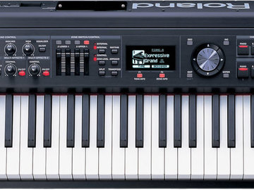 Rent: Roland RD-700GX | Digital Stage Piano (w/ stand + soft case)