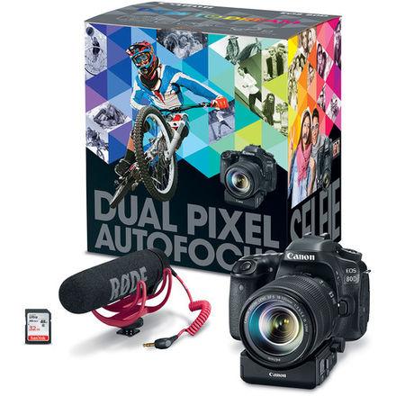 Canon EOS 80D Video Creator Kit & More
