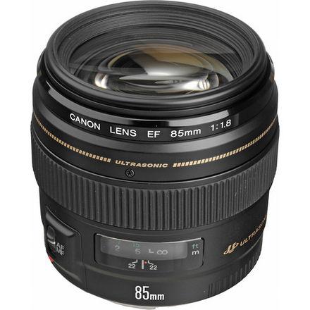 Canon EF 85mm f/1.8 USM, Lens Hood & UV Filter