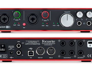 Rent: Focusrite | Scarlett 6i6 USB audio interface
