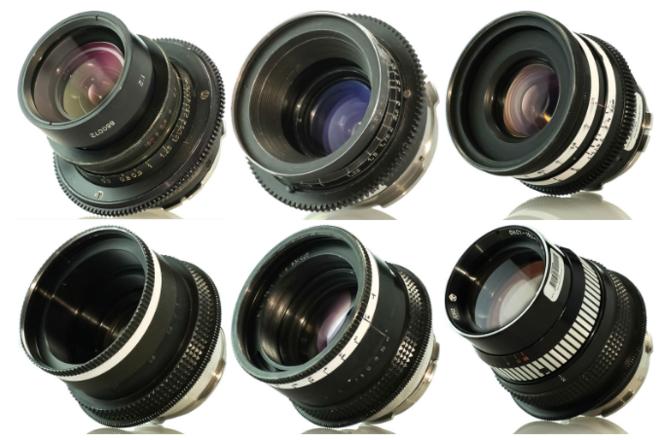 Lomo Standard Speed Set of 6 Lenses (18 ,22, 28, 35, 50, 75)