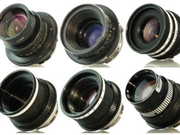 Rent: Lomo Standard Speed Set of 6 Lenses (18 ,22, 28, 35, 50, 75)