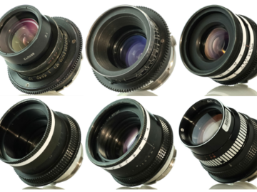 Rent: Lomo Standard Speed Set of 6 Lenses (18 ,22, 28, 35, 50, 75)