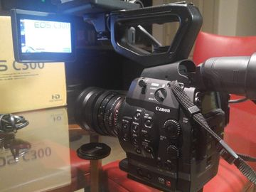 Rent: Canon Cinema EOS C300 Camcorder Body with Dual Pixel CMOS AF