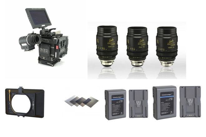 RED Epic-W Helium FULL Package