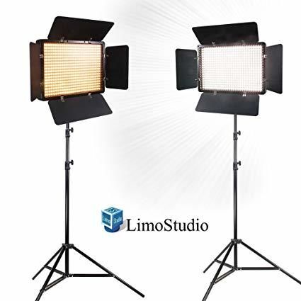 Limo Studio LED Panel Kit (set of 2)